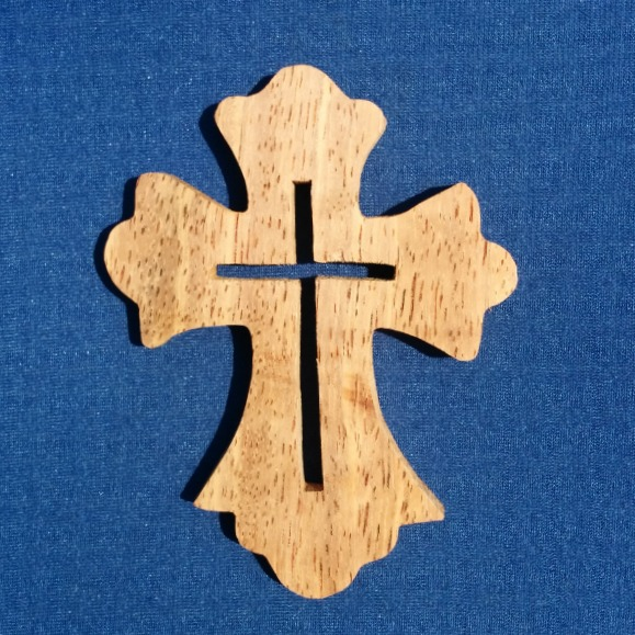 Cross Wood Carving