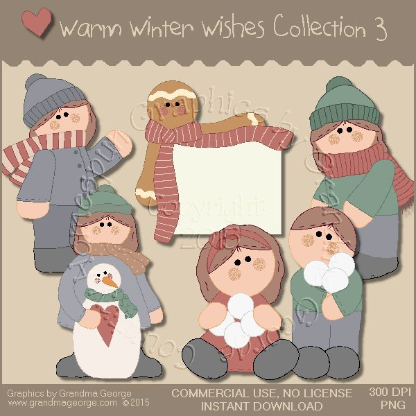 Warm Winter Wishes Collection Vol. 3