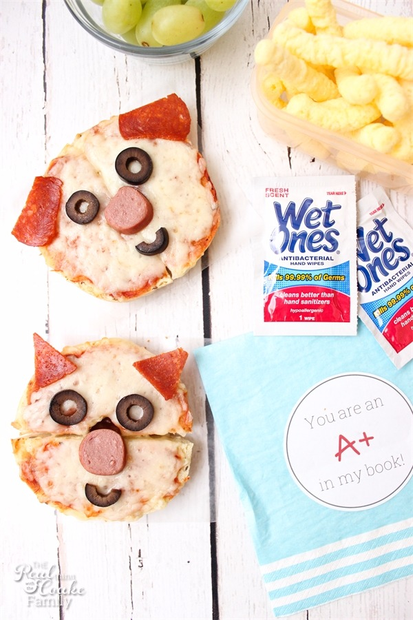 Dog and Cat Bagel Pizza Recipe