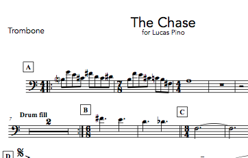 The Chase - Digital Sheet Music