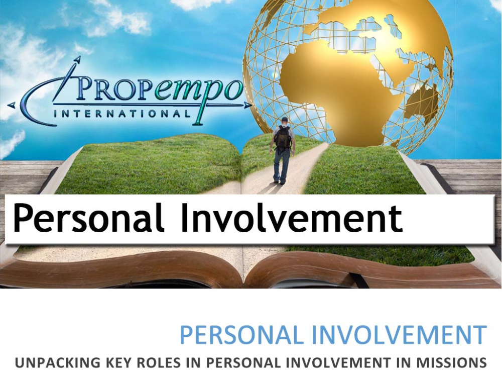 Personal Involvement - Unpacking Key Roles in Missions