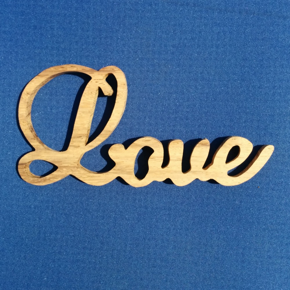 LOVE - wood carving