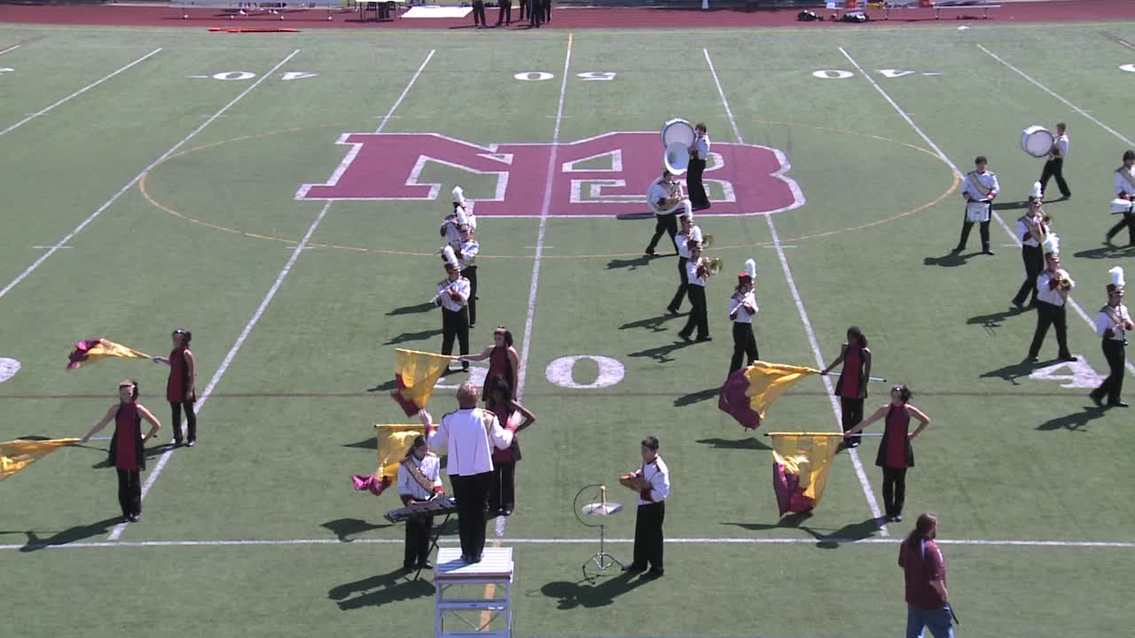 Newton marching band performance