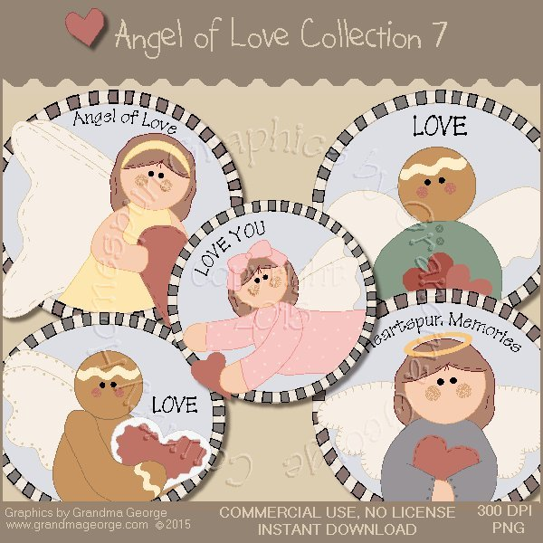 Angel of Love Graphics Collection Vol. 7