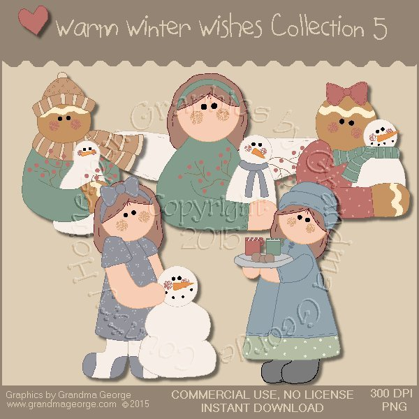 Warm Winter Wishes Collection Vol. 5