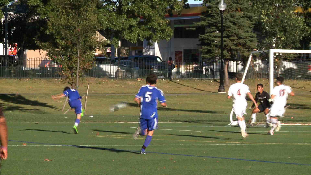 Millburn vs. Bloomfield boys' soccer video highlights