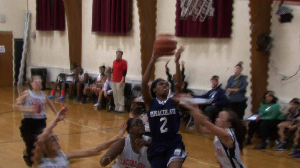 Montclair Immaculate vs. Lacordaire girls' basketball video highlights