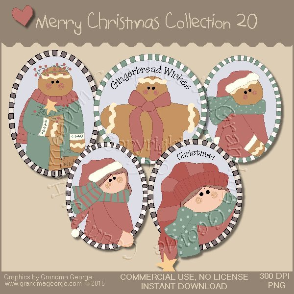 Merry Christmas Graphics Collection Vol. 20