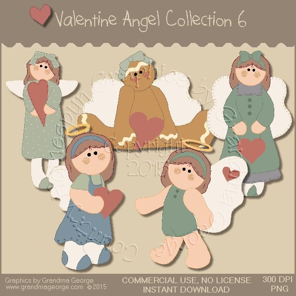 Valentine Angel Graphics Collection Vol. 6