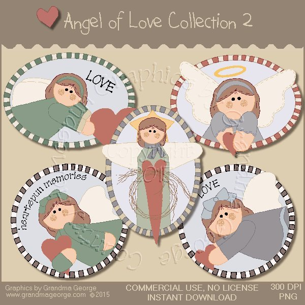 Angel of Love Graphics Collection Vol. 2