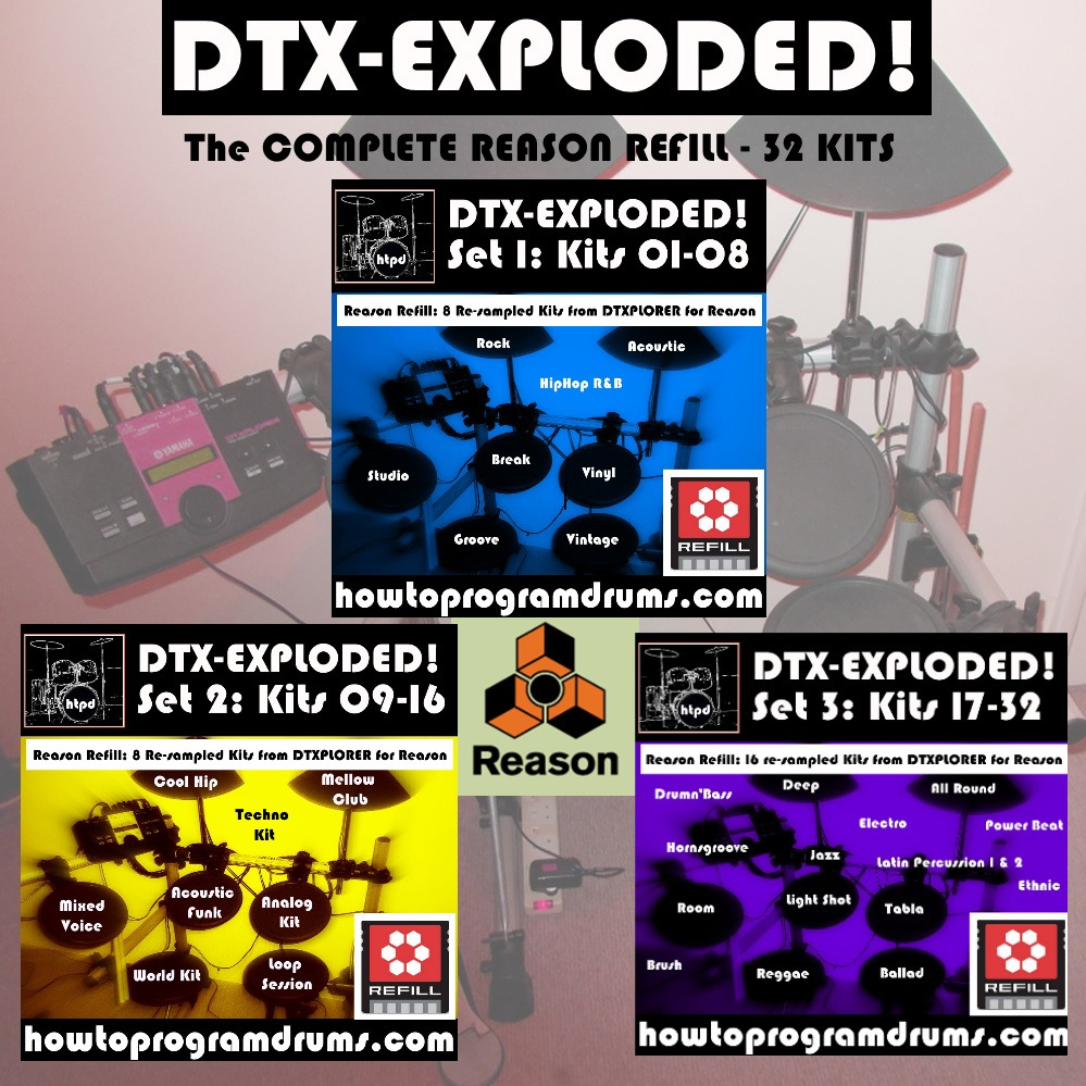 DTX-Exploded! The Complete Reason Refill (32 Kits for Kong)
