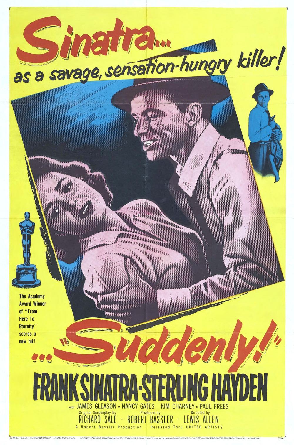 "Sinatra is a killer in ""Suddenly"" (1954)"