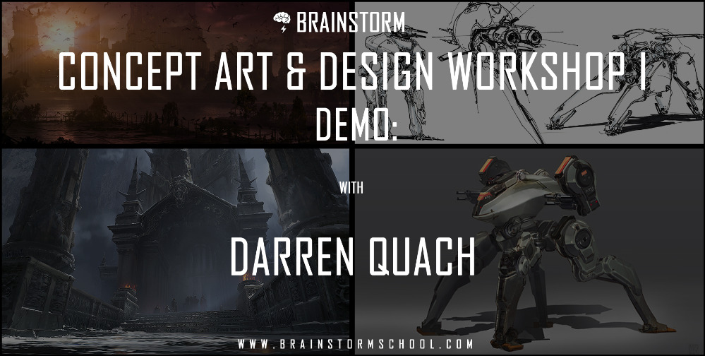Brainstorm School - Workshop I - Darren Quach Demo