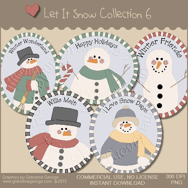 Let It Snow Country Graphics Collection Vol. 6