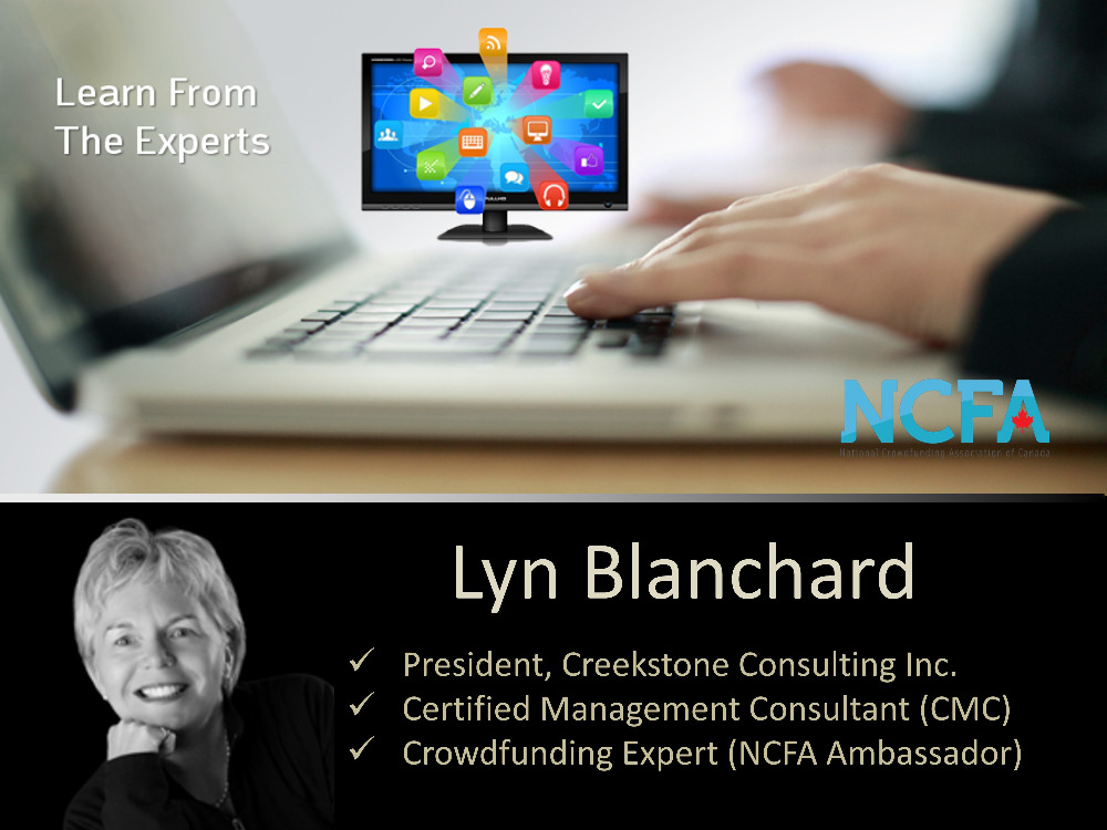 NCFA Webinar Series:  Secrets to Reward-based crowdfunding success