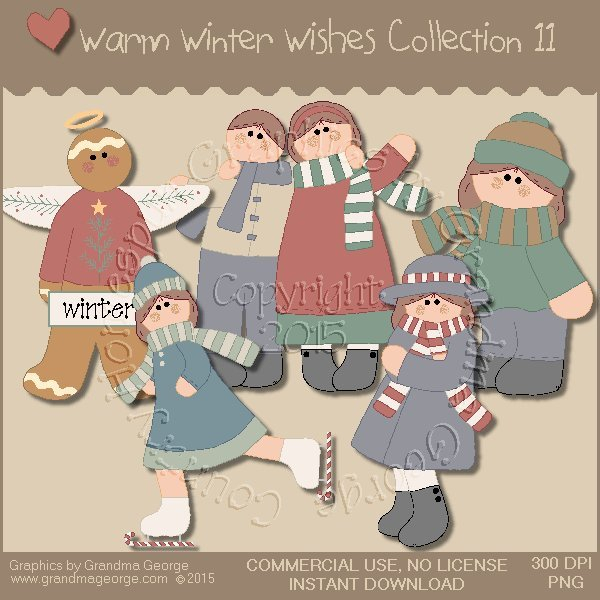 Warm Winter Wishes Collection Vol. 11