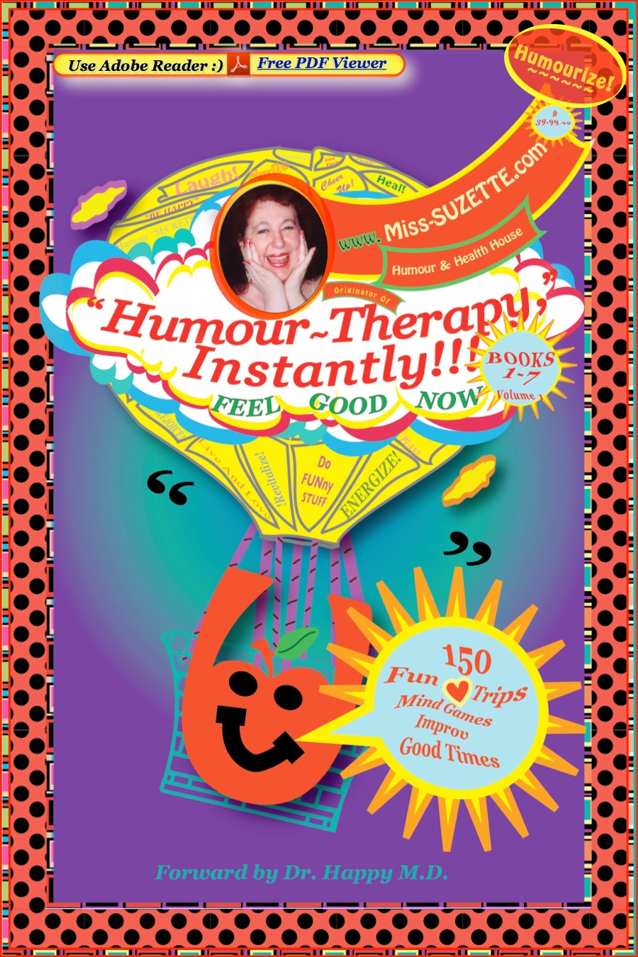 """Humour-Therapy, Instantly!!!"" with Miss-SUZETTE.com"