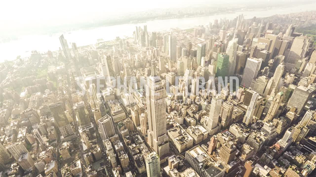 New York City, USA, Video  - The Empire State Building (Wide angle)