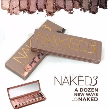 Urban Decay Naked 3 Shadow Palette