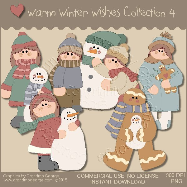 Warm Winter Wishes Collection Vol. 4