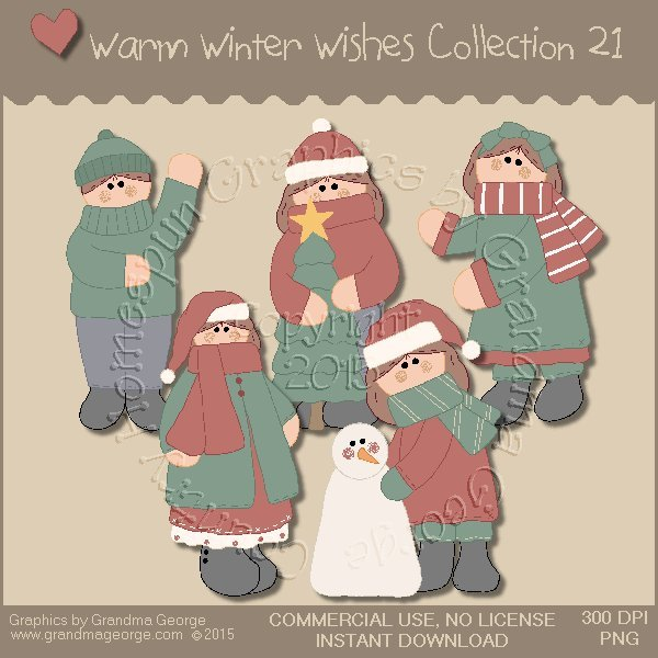 Warm Winter Wishes Collection Vol. 21