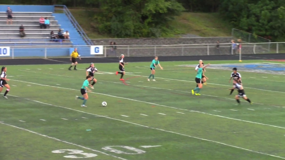 Sayreville vs. Woodbridge girls' soccer video highlights