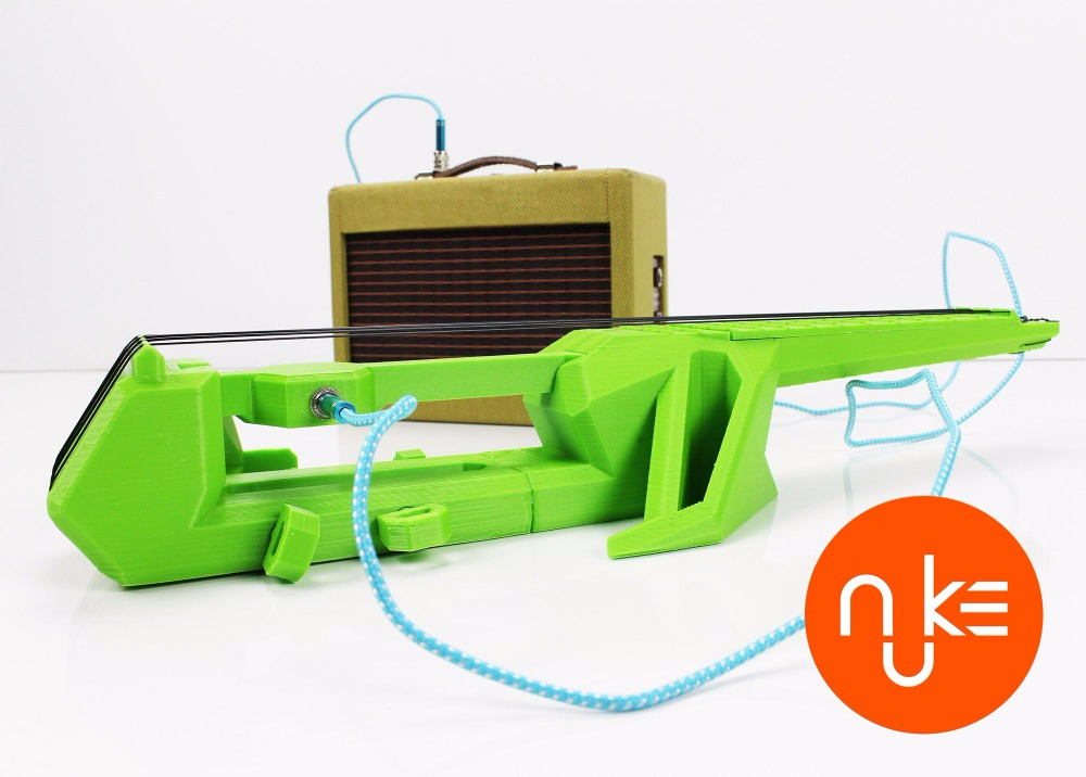 NUKE - 3D Printable Electric Ukulele