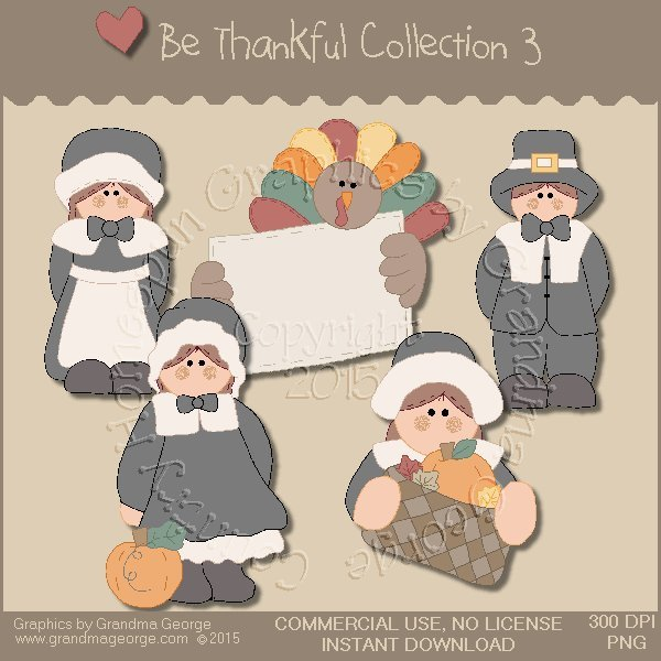 Be Thankful Collection Vol. 3