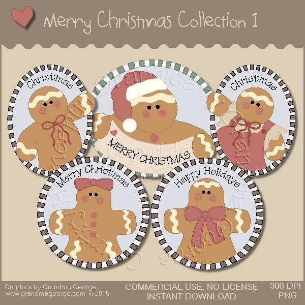 Merry Christmas Graphics Collection Vol. 1