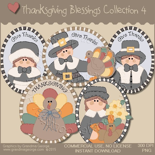 Thanksgiving Blessings Collection Vol. 4