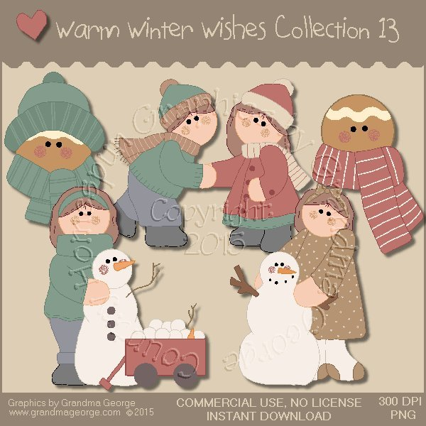 Warm Winter Wishes Collection Vol. 13