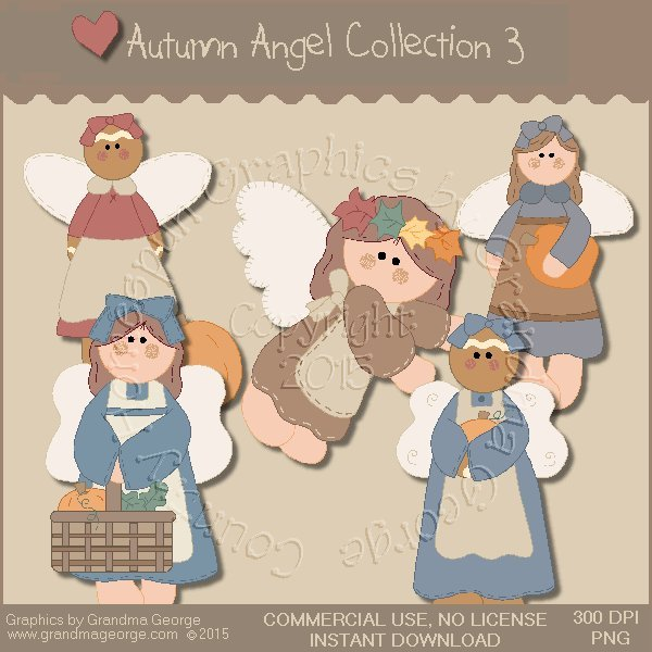 Autumn Angel Graphics Collection Vol. 3