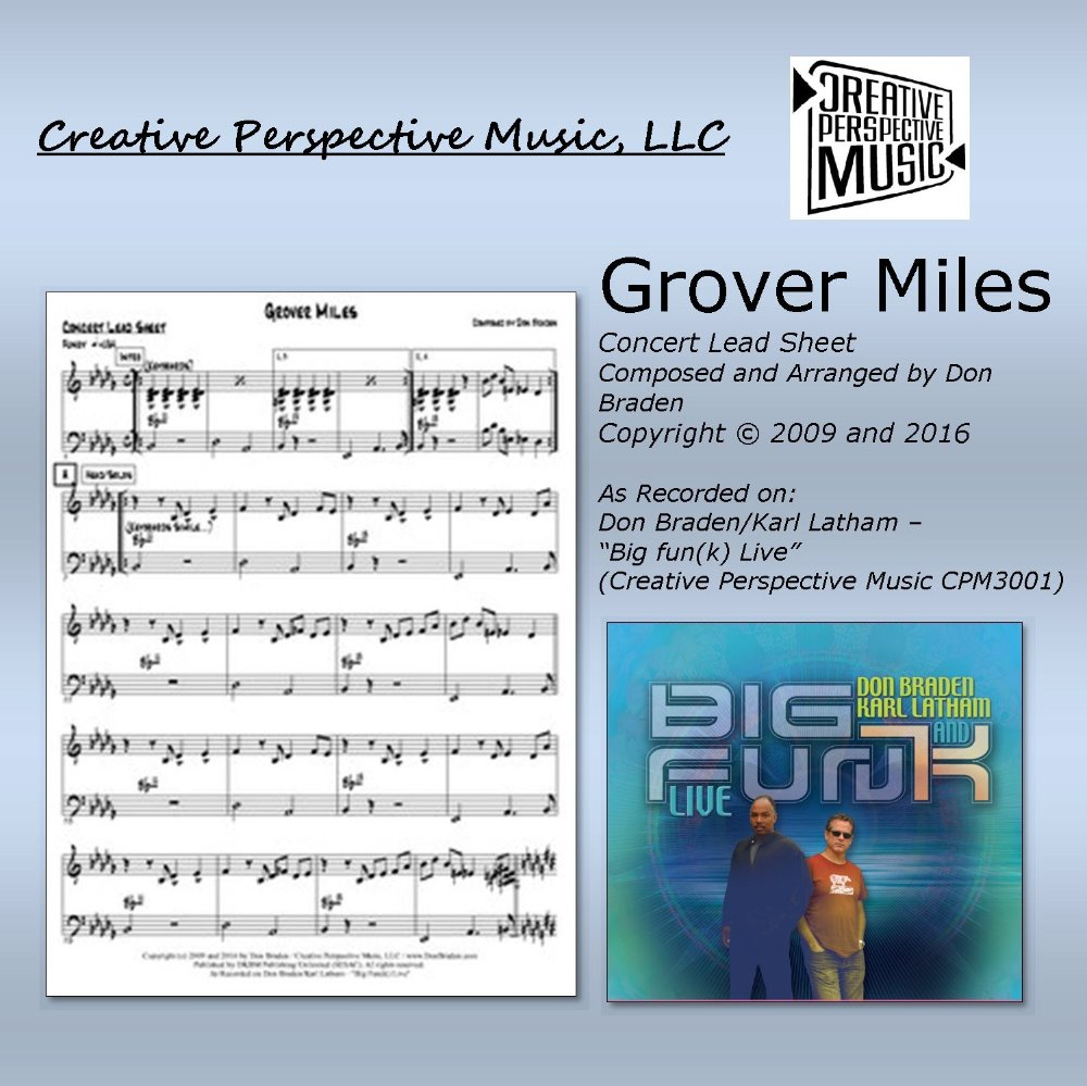 Grover Miles - Concert Lead Sheet