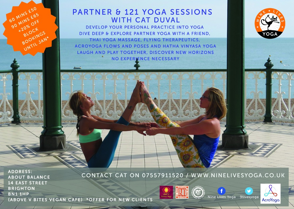 Partner Yoga into Acroyoga Sessions