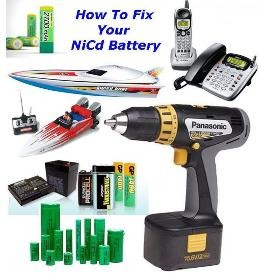 How To Fix NiCad Battery