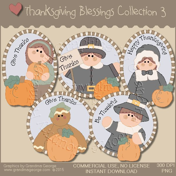 Thanksgiving Blessings Collection Vol. 3