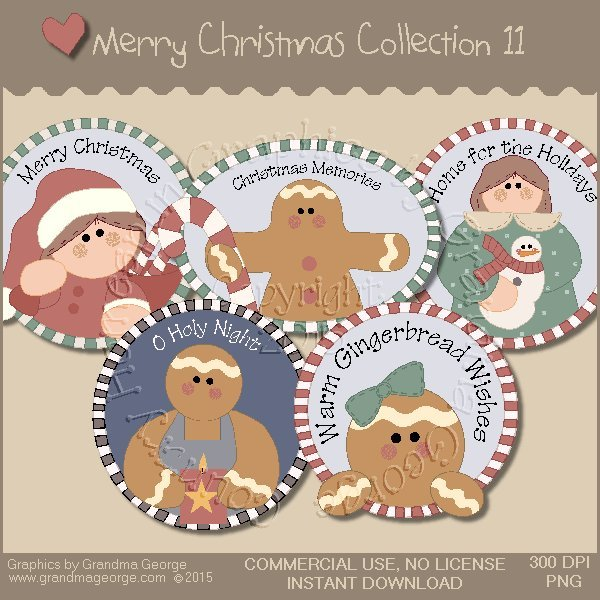 Merry Christmas Graphics Collection Vol. 11