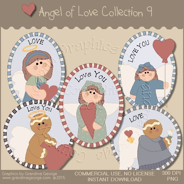 Angel of Love Graphics Collection Vol. 9
