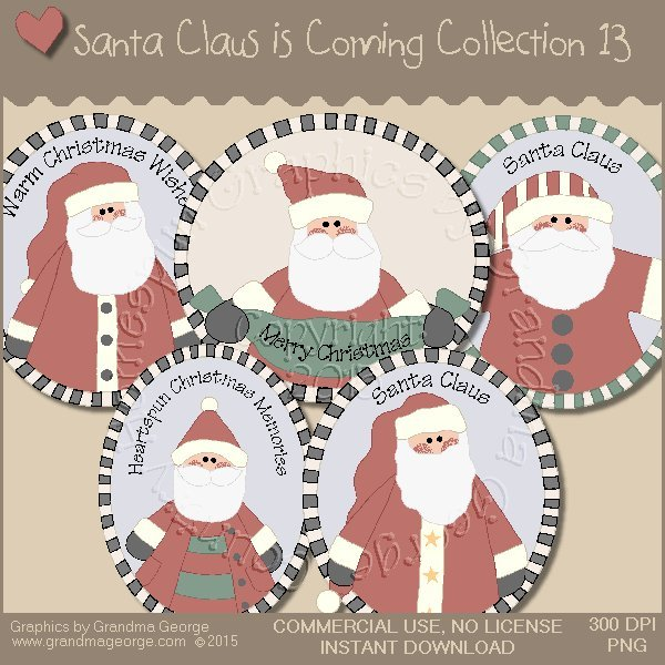 Santa Claus is Coming Country Graphics Vol. 13