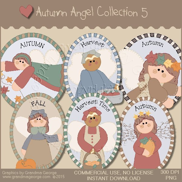 Autumn Angel Graphics Collection Vol. 5