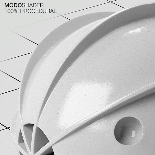 Modo Shader - White Ceramic