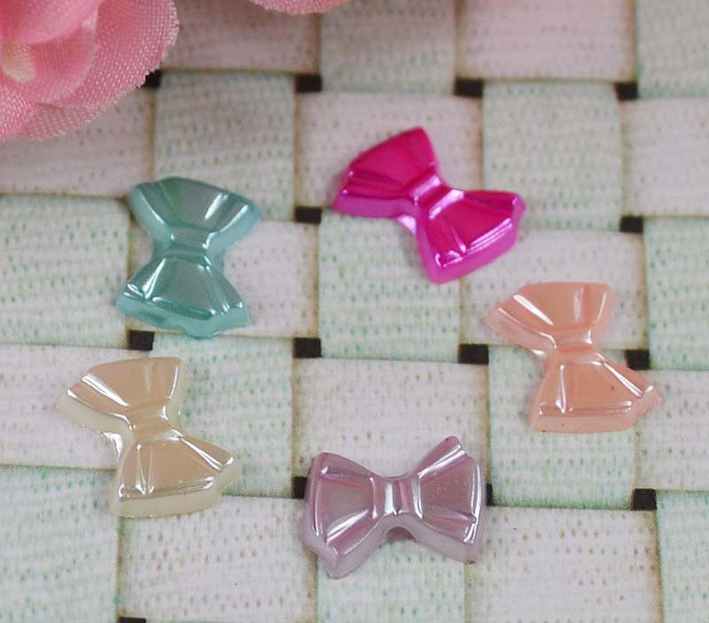 Adorable Flat Back Resin Bows for Crafting