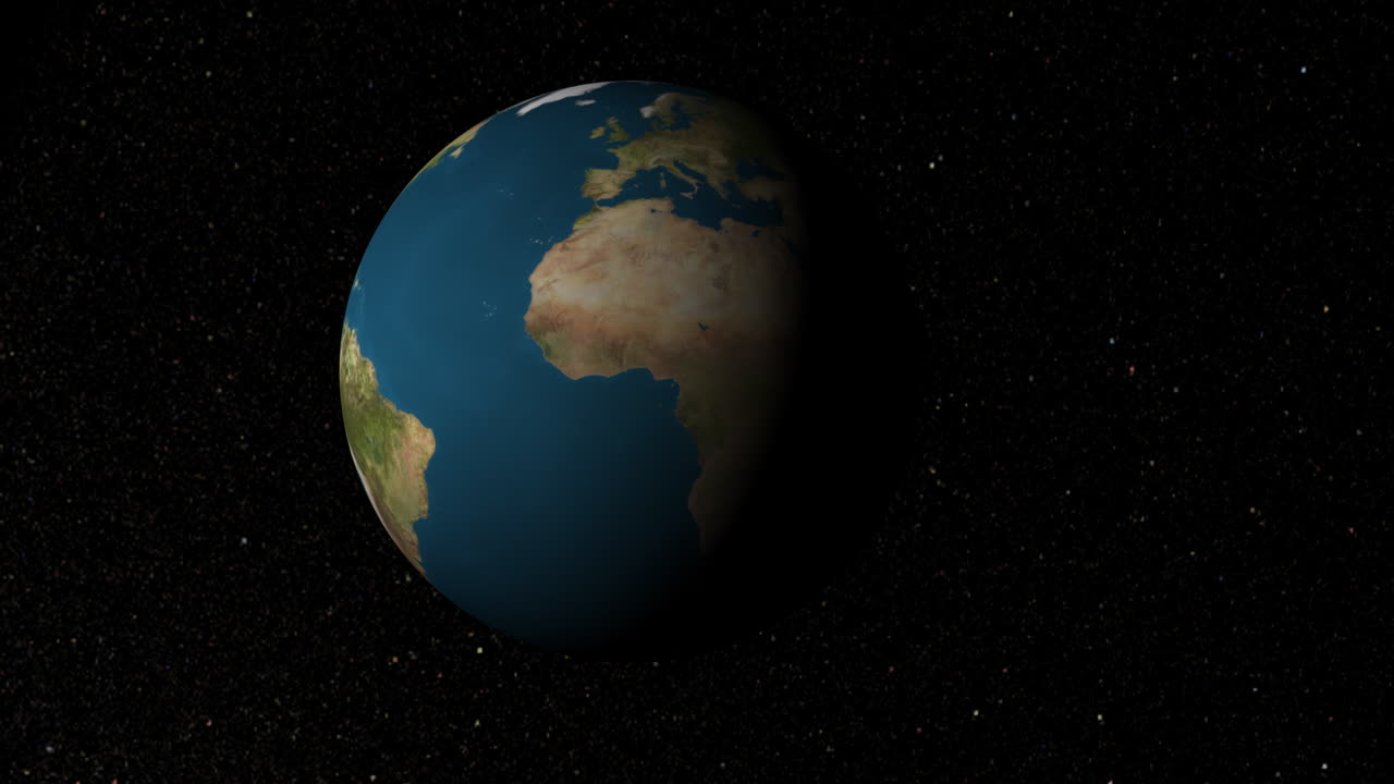 Earth View Caribbean 2 (Animation)