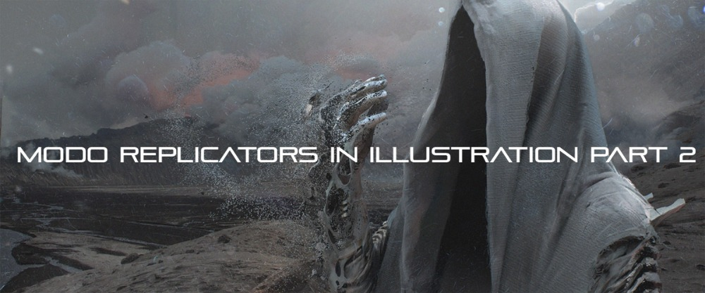 Modo Replicators in Illustration Part 2