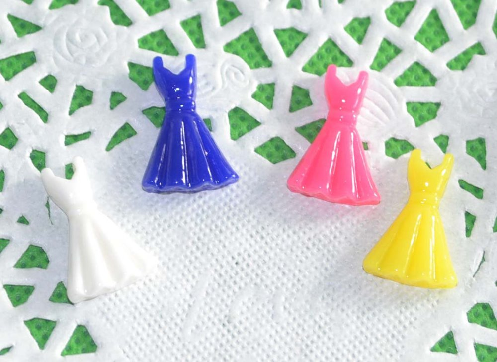 Flat Back Resin DRESSES for Crafting