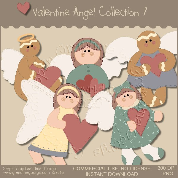 Valentine Angel Graphics Collection Vol. 7