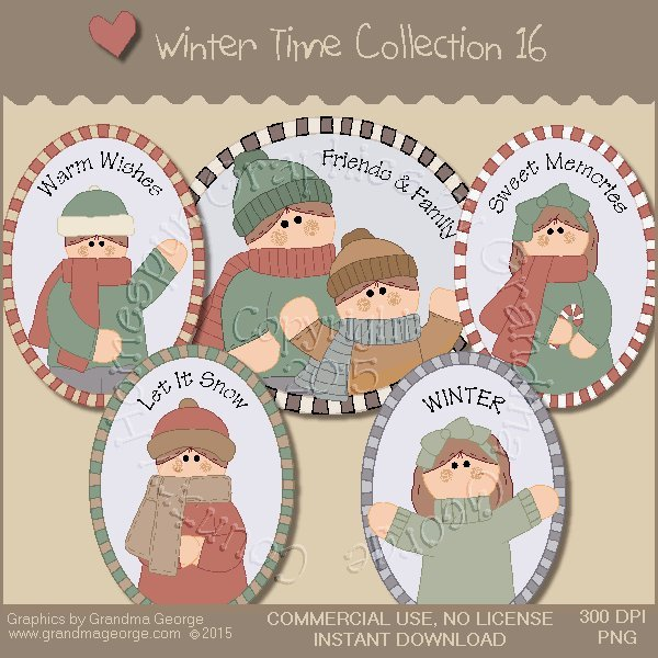 Winter Time Collection Vol. 16