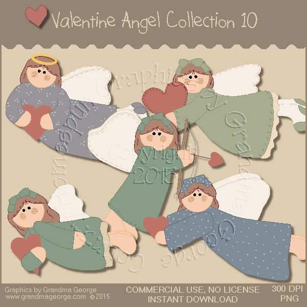 Valentine Angel Graphics Collection Vol. 10
