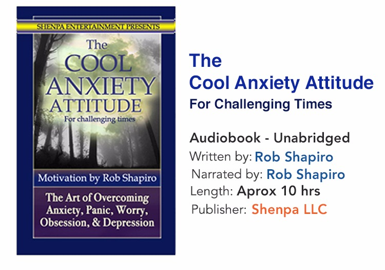 The Cool Anxiety Attitude (Unabridged)