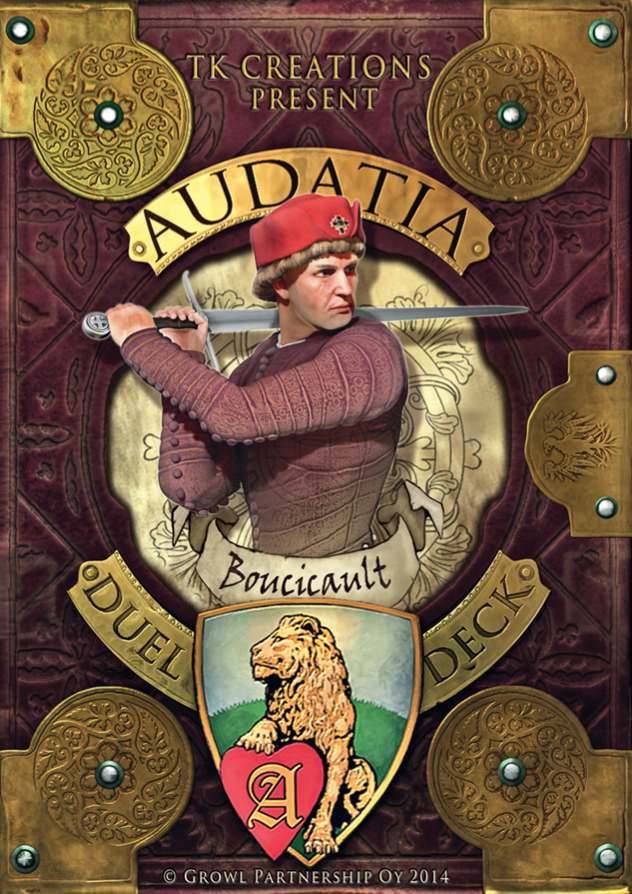 Audatia print and play deck: Boucicault